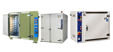 Explosion-proof heating chambers