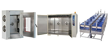 Cooling chambers and cabinets